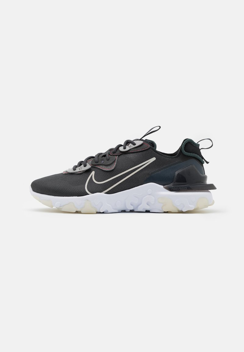 Nike Sportswear - REACT VISION 3M - Sneakers - anthracite/white/university red