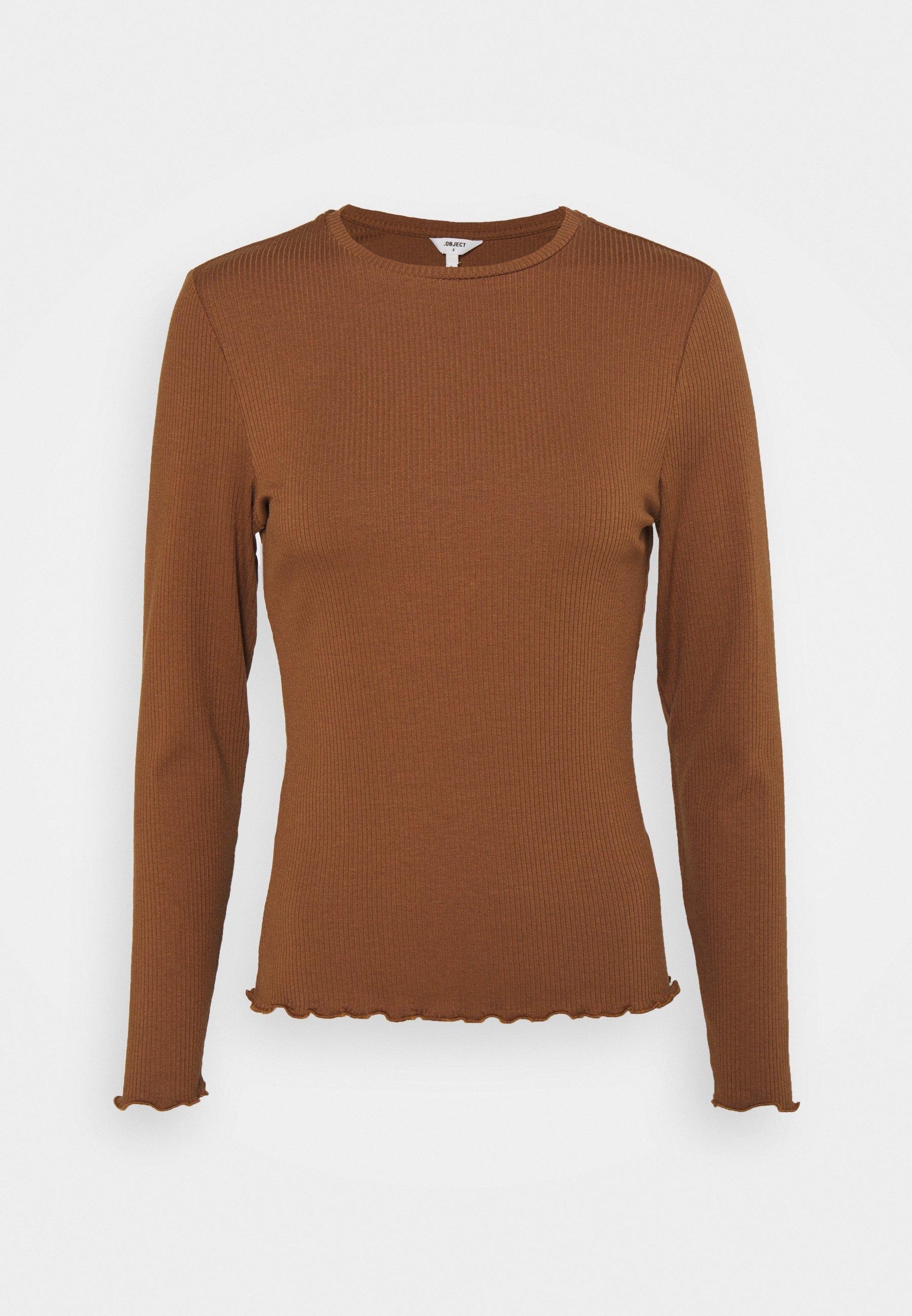 Women OBJJAMIE TOP  - Long sleeved top