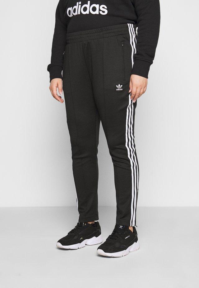 PANTS - Verryttelyhousut - black/white