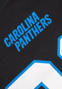 Fanatics - NFL CHRISTIAN MCCAFFREY CAROLINA PANTHERS ICONIC NAME & NUMBER  - Club wear - black - 5