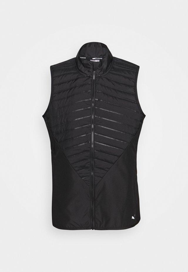 RUN FAVORITE PUFFER VEST - Waistcoat - black