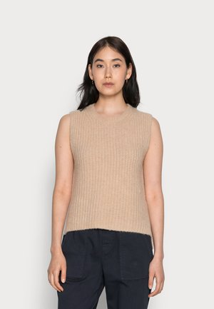 SLEEVELESS - Pullover - blushed camel