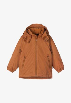 Winter jacket - cinnamon brown