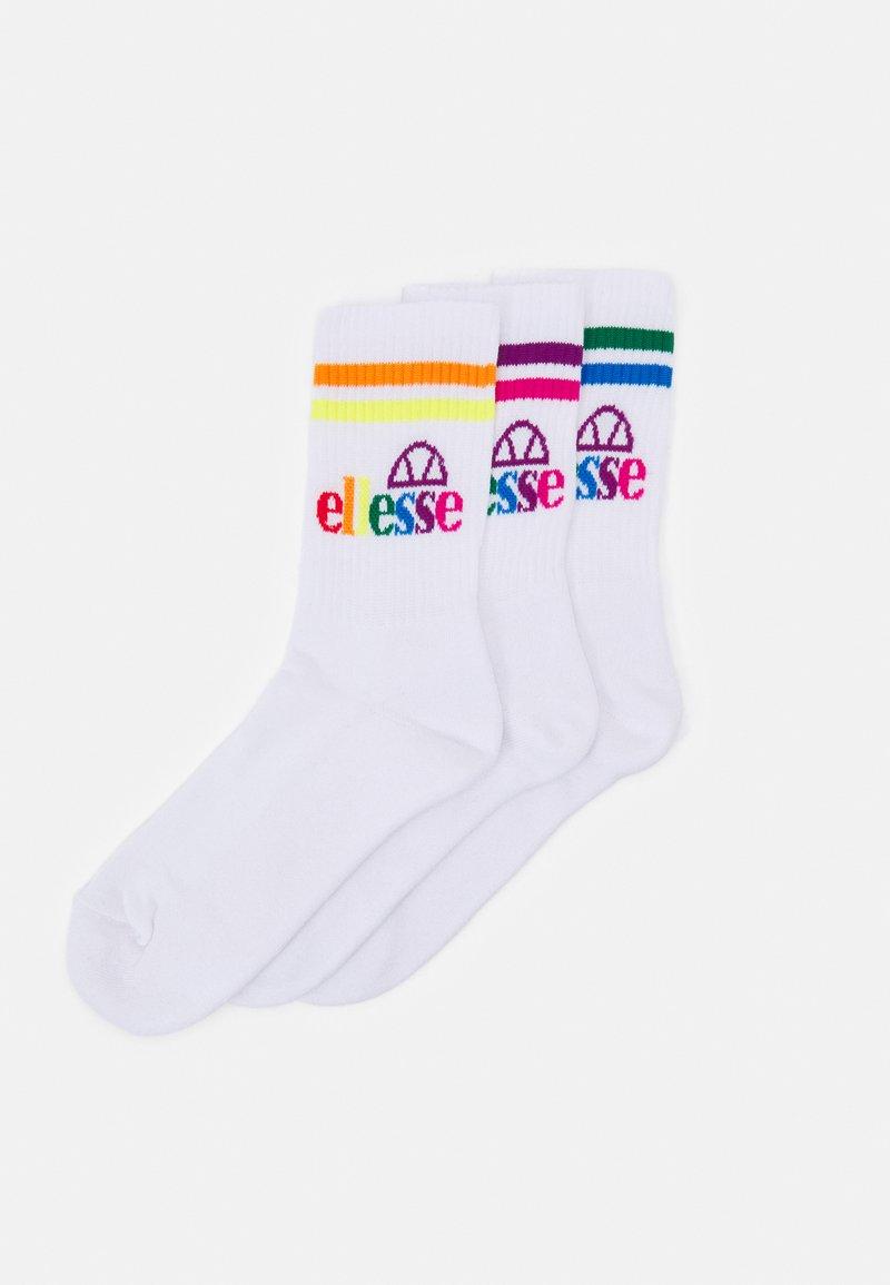 Ellesse - PULLO UNISEX 3 PACK - Socks - white
