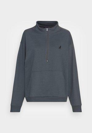 MADISON HALF ZIP - Sweatshirt - ombre blue
