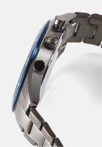BOSS - SANTIAGO - Chronograph watch - grey/blue - 2