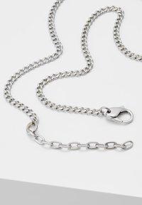 Diesel - DOUBLE PENDANT - Necklace - silver-coloured - 2