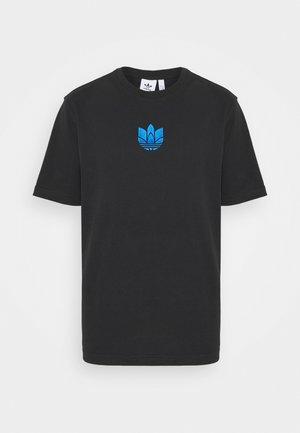 TREFOIL TEE UNISEX - T-shirt con stampa - black/blue