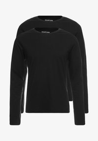 YOURTURN - 2 PACK - Long sleeved top - black - 3