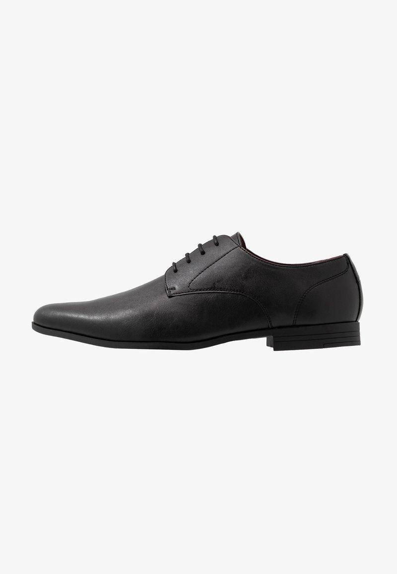 Burton Menswear London Freddy Eleganckie Buty Black Czarny Zalando Pl