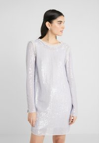Needle & Thread - SHIMMER MINI DRESS - Koktejlové šaty/ šaty na párty - periwinkle purple - 0