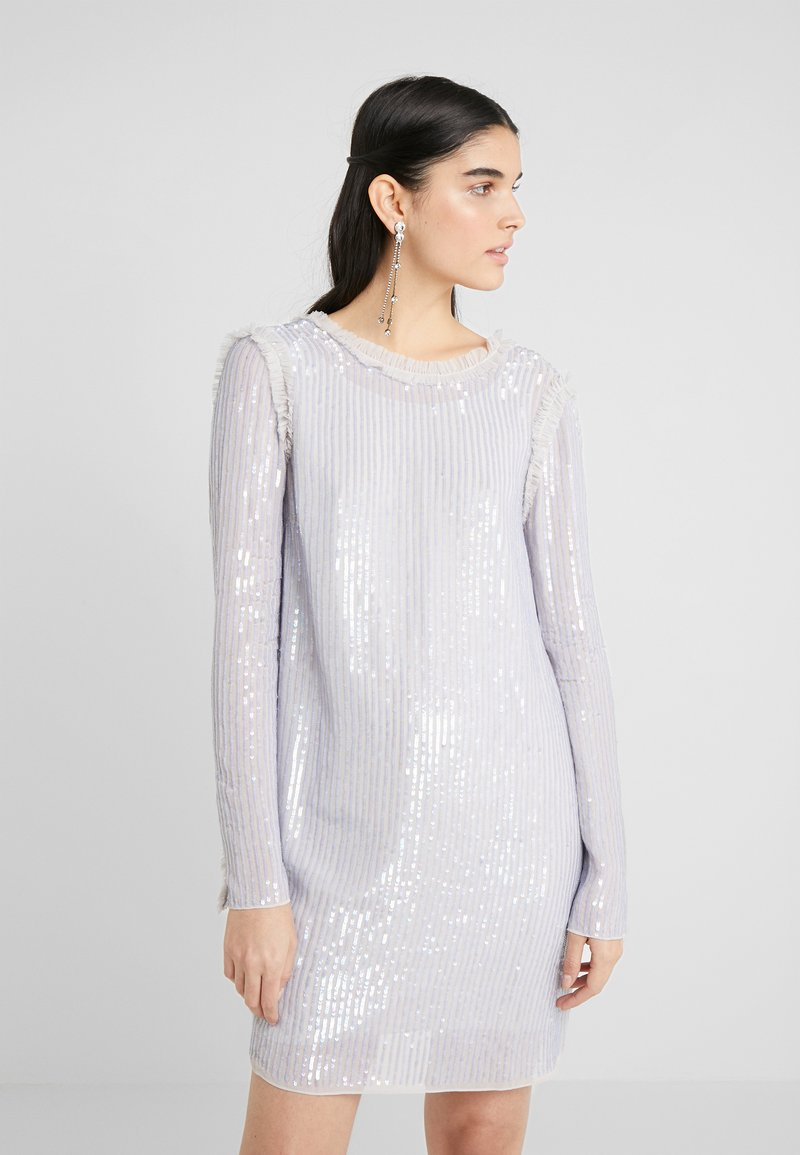 Needle & Thread - SHIMMER MINI DRESS - Koktejlové šaty/ šaty na párty - periwinkle purple