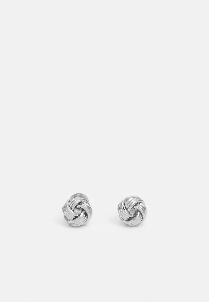 SNÖ of Sweden - KNOT - Earrings - silver-coloured
