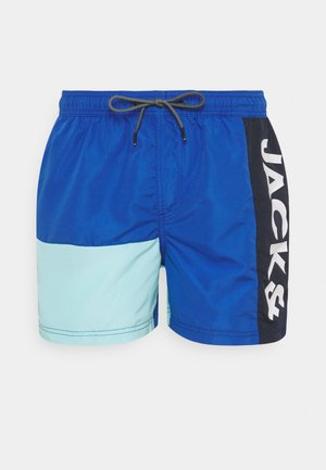 JJIBALI JJSWIMSHORTS LOGO - Swimming shorts - surf the web