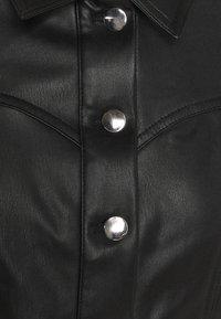 ONLY - ONLWESTA  - Kurtka ze skóry ekologicznej - black - 5