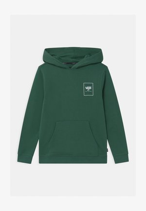 PRINT BOX BACK  - Bluza - dark green