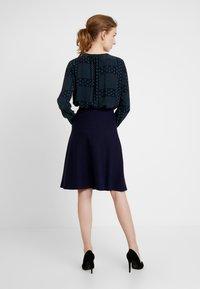 Anna Field - Áčková sukně - dark blue - 2