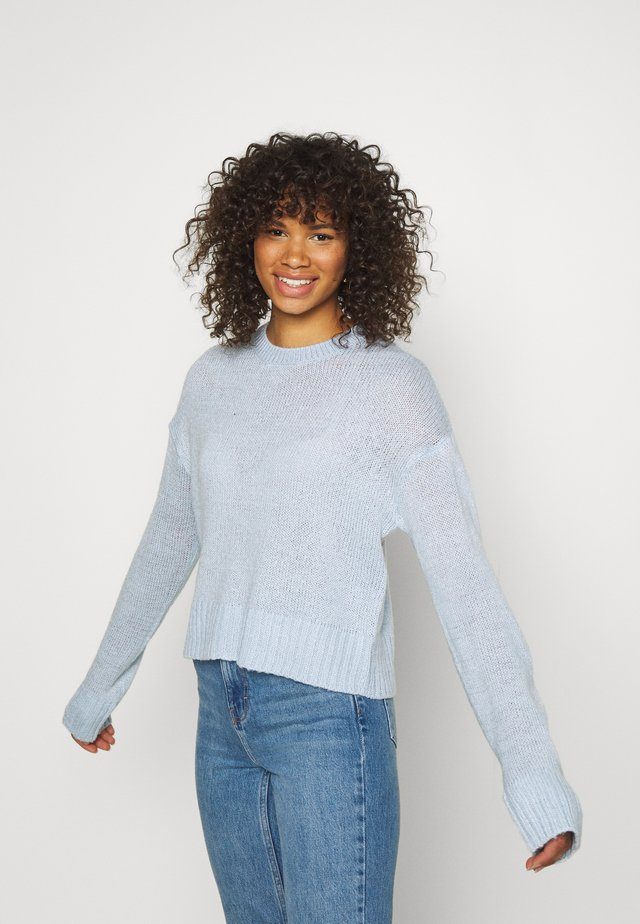 LEAD IN JUMPER - Pullover - light blue
