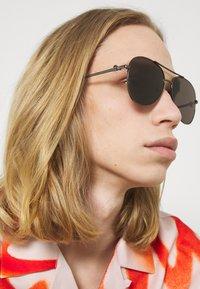 Alexander McQueen - Sunglasses - ruthenium/grey - 1