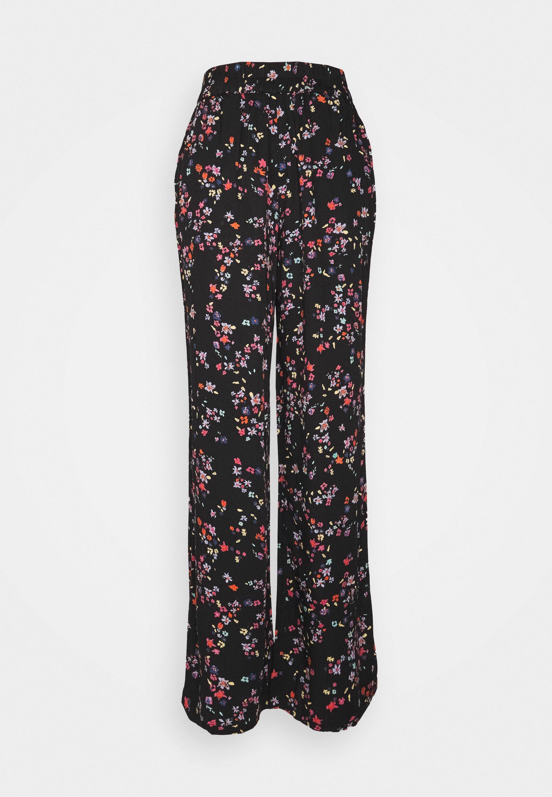 Femme PCLALA WIDE PANTS - Pantalon classique