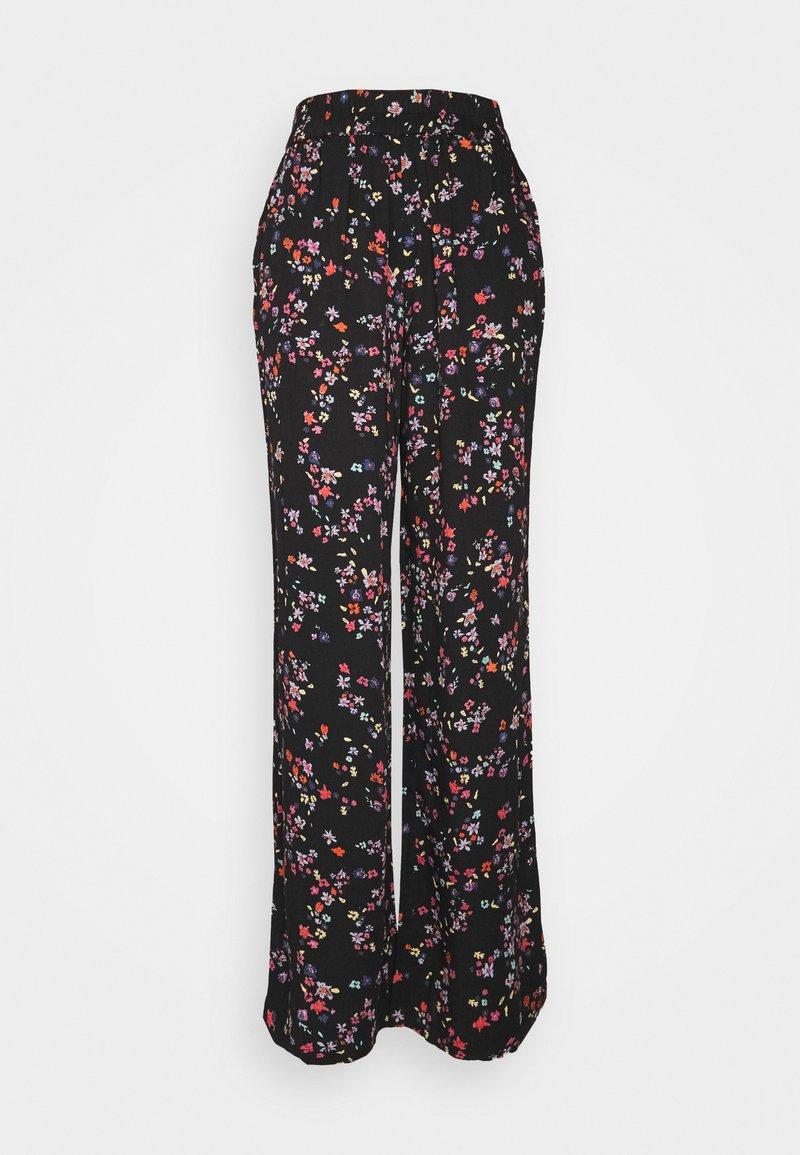 PIECES Tall - PCLALA WIDE PANTS - Pantaloni - black