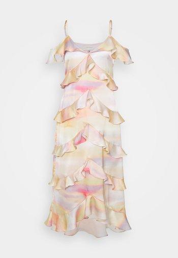 SUNSET TIERED DRESS - Cocktailklänning - multi