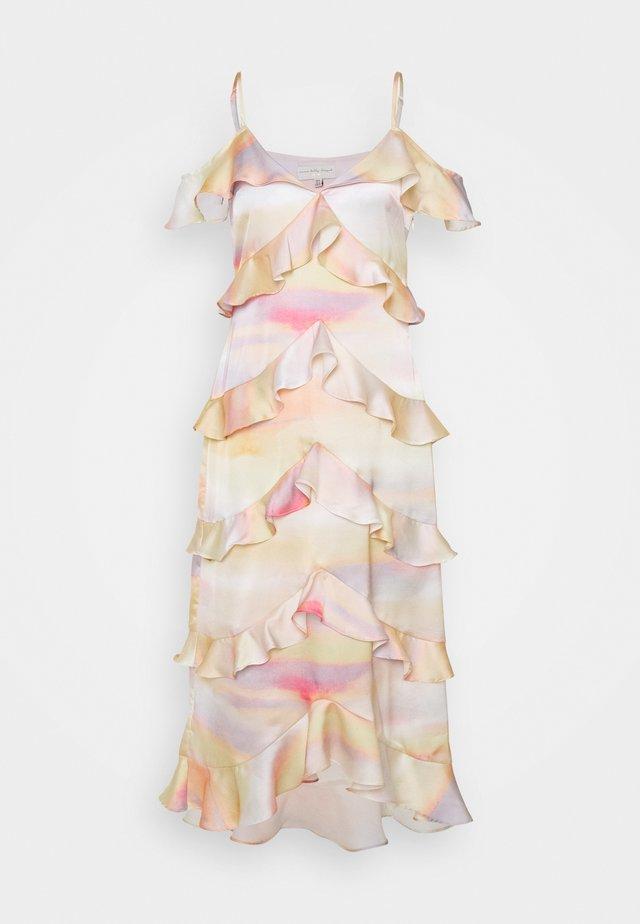 SUNSET TIERED DRESS - Vestito elegante - multi