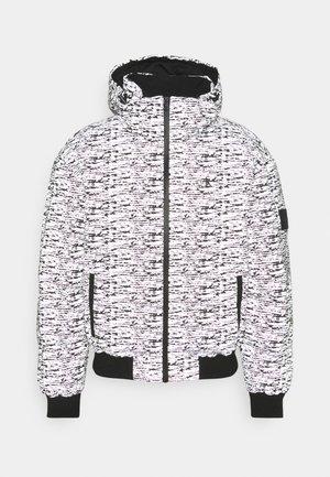 REFLECTIVE PUFFER UNISEX - Winter jacket - white noise