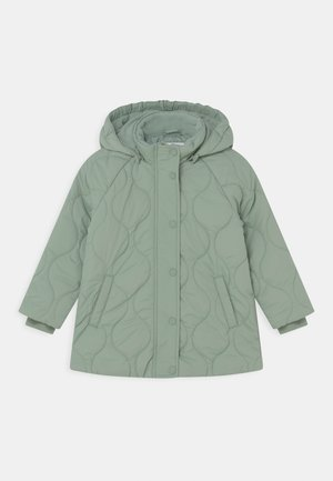 MINI QUILTED UNISEX - Winter coat - light dusty green