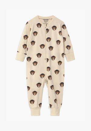 MONKEY FACES UNISEX - Pyjamas - light beige