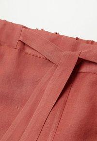 Violeta by Mango - COTILI8 - Trousers - pink - 5