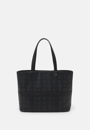 DELMY VISETOS SHOPPER MEDIUM - Bolso shopping - black