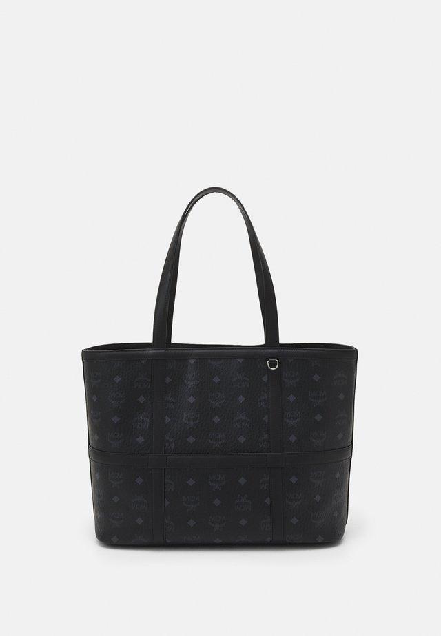 DELMY VISETOS SHOPPER MEDIUM - Tote bag - black