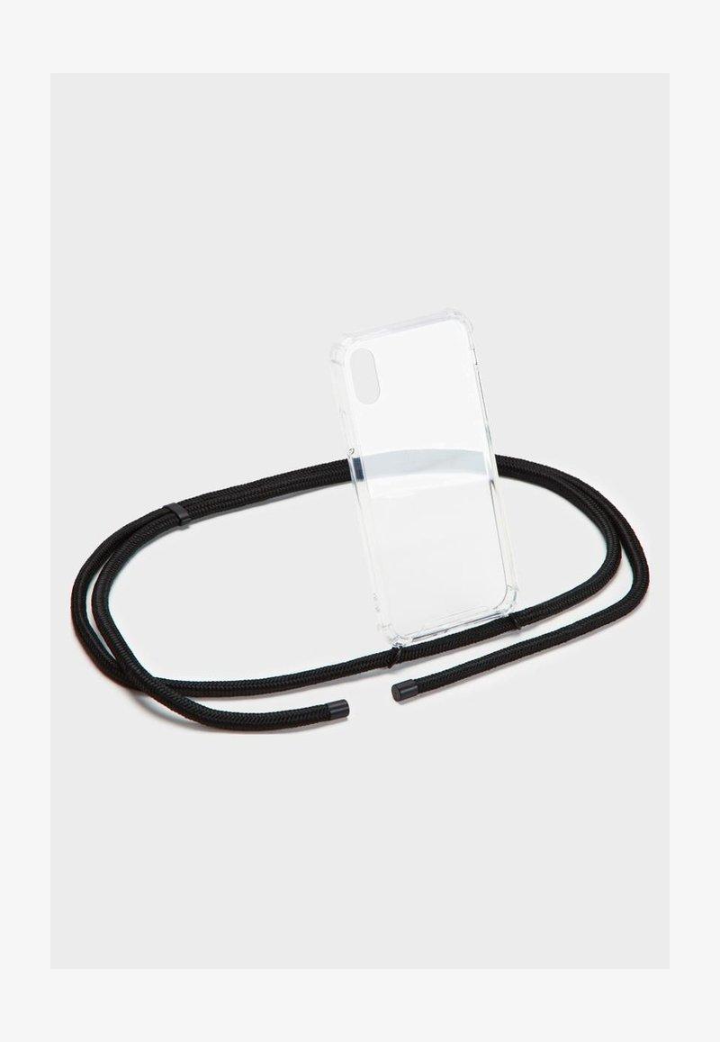 Phonelace - BASIC IPHONE 7/8 PLUS - Phone case - black/black