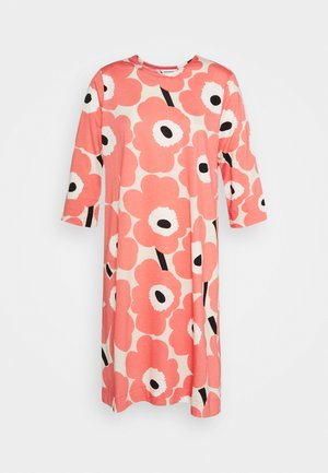 CLASSICS KAUNEUS UNIKKO DRESS - Jersey dress - beige/rose/black