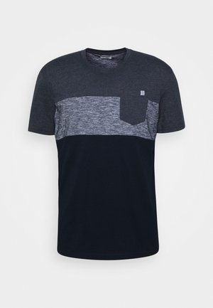 Print T-shirt - sky captain blue