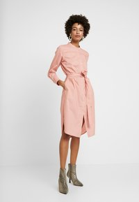 Part Two - LULU DRESS - Skjortekjole - rose dawn - 0