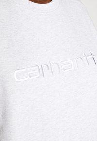 Carhartt WIP - Sweatshirt - ash heather/white - 5