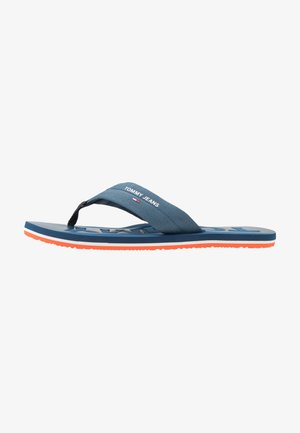 BEACH  - T-bar sandals - blue