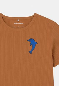 Mini Rodini - DOLPHIN TEE UNISEX - Print T-shirt - brown - 2