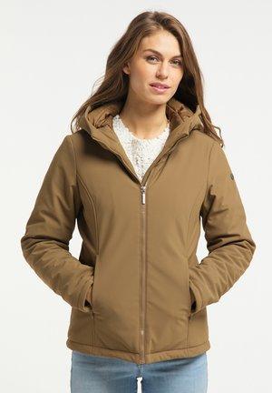 Winter jacket - dunkelbeige
