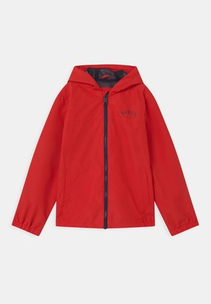 Waterproof jacket - bright red