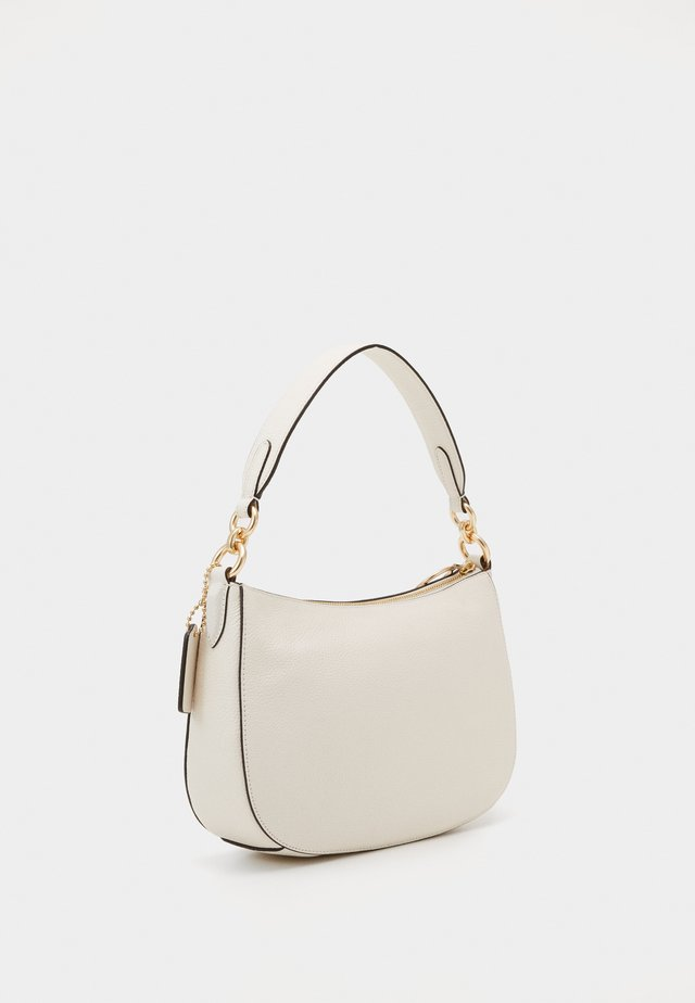 PEBBLE SUTTON CROSSBODY - Handtas - chalk