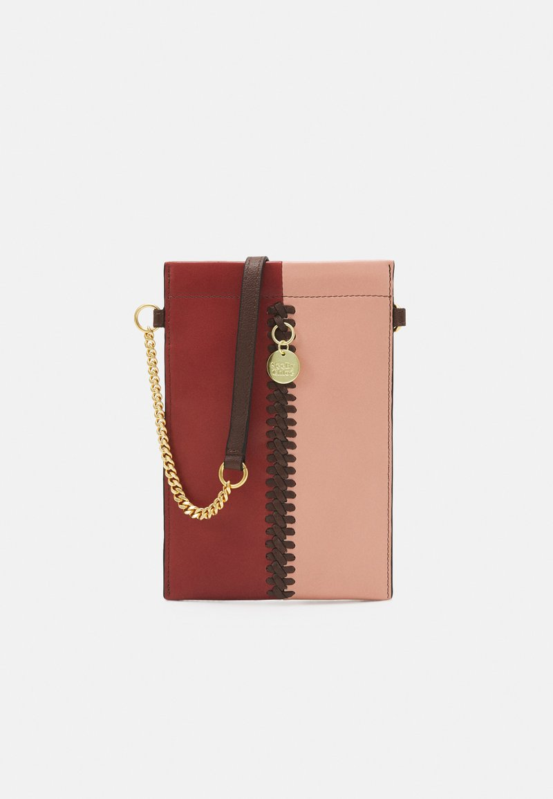 See by Chloé - TILDA PHONE WALLET - Phone case - faded red