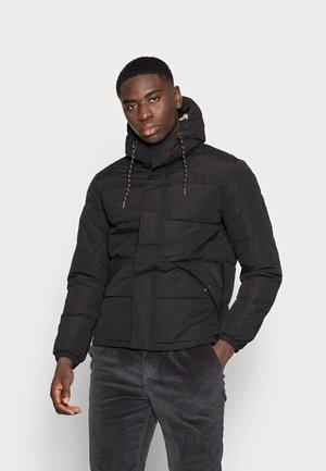 JJEFDEY PUFFER - Winter jacket - black