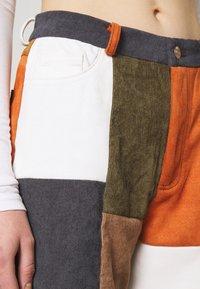 Jaded London - PATCHWORK WIDE LEG TROUSER - Trousers - multi - 5
