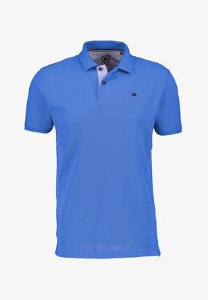 COOL & DRY* PIQUÉQUALITÄT - Polo shirt - storm blue melange