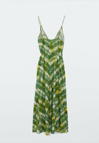 Massimo Dutti - Day dress - green/white - 1
