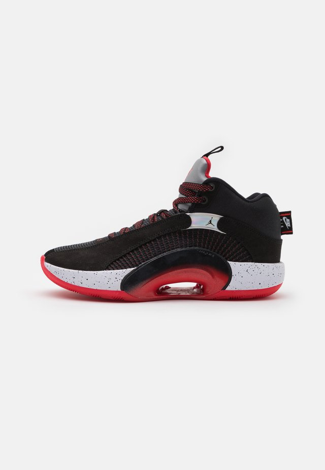 AIR  XXXV - Obuwie do koszykówki - black/fire red/reflect silver