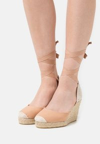Office - MARMALADE - Sandály na vysokém podpatku - apricot - 0